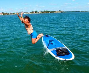 paddle-board-diving